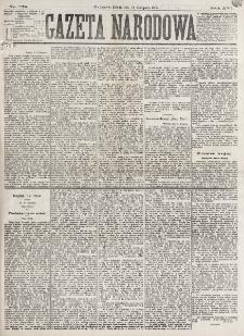 Gazeta Narodowa. R. 16 (1877), nr 258 (10 listopada)