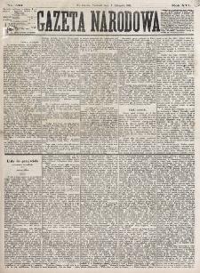 Gazeta Narodowa. R. 16 (1877), nr 259 (11 listopada)