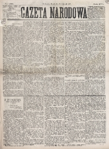 Gazeta Narodowa. R. 16 (1877) nr 260 (13 listopada)