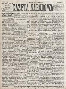 Gazeta Narodowa. R. 16 (1877), nr 261 (24 listopada)