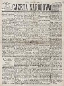 Gazeta Narodowa. R. 16 (1877), nr 262 (15 listopada)