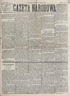 Gazeta Narodowa. R. 16 (1877), nr 264 (17 listopada)