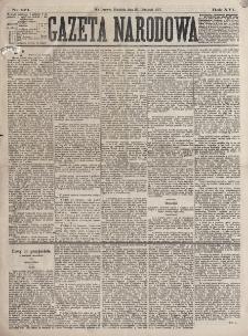 Gazeta Narodowa. R. 16 (1877), nr 271 (25 listopada)