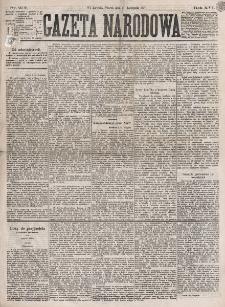 Gazeta Narodowa. R. 16 (1877), nr 272 (27 listopada)