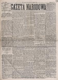 Gazeta Narodowa. R. 16 (1877), nr 273 (28 listopada)