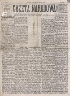 Gazeta Narodowa. R. 16 (1877), nr 275 (30 listopada)