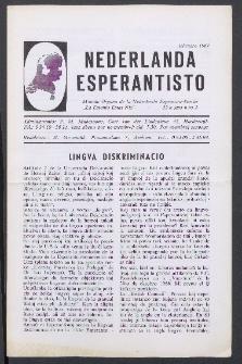 Nederlanda Esperantisto : Jaro 32, no. 2 (1967)