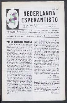 Nederlanda Esperantisto : Jaro 33, no. 4 (1968)