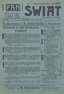 Świat : pismo tygodniowe ilustrowane poświęcone życiu społecznemu, literaturze i sztuce. R. 17 (1922), nr 5 (4 lutego)