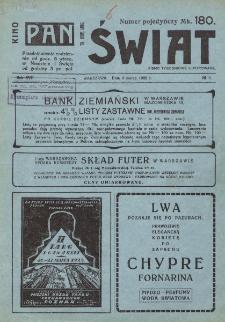 Świat : pismo tygodniowe ilustrowane poświęcone życiu społecznemu, literaturze i sztuce. R. 17 (1922), nr 9 (4 marca)