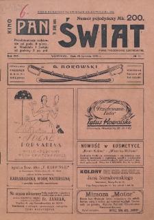 Świat : pismo tygodniowe ilustrowane poświęcone życiu społecznemu, literaturze i sztuce. R. 17 (1922), nr 17 (29 kwietnia)