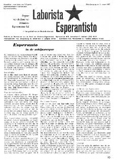 Laborista Esperantisto : Jaargang 36, no. 3 (1967)