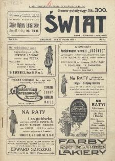 Świat : pismo tygodniowe ilustrowane poświęcone życiu społecznemu, literaturze i sztuce. R. 17 (1922), nr 32 (11 sierpnia)