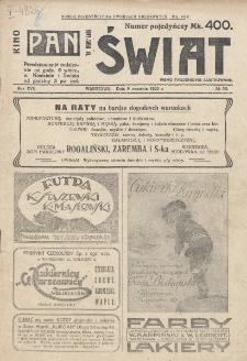 Świat : pismo tygodniowe ilustrowane poświęcone życiu społecznemu, literaturze i sztuce. R. 17 (1922), nr 36 (9 września)