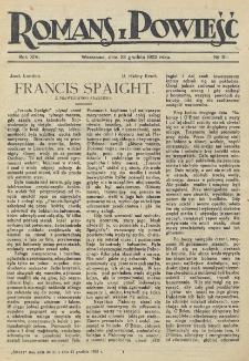 Romans i Powieść. R. 14, nr 51 (23 grudnia 1922)