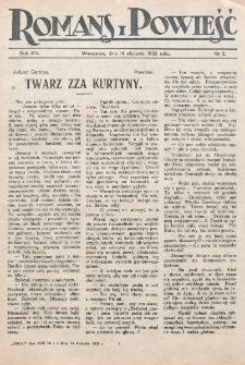 Romans i Powieść. R. 14, nr 2 (14 stycznia 1922)