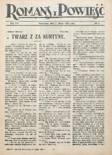 Romans i Powieść. R. 14, nr 6 (11 lutego 1922)
