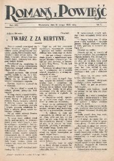 Romans i Powieść. R. 14, nr 7 (18 lutego 1922)