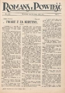 Romans i Powieść. R. 14, nr 8 (25 lutego 1922)