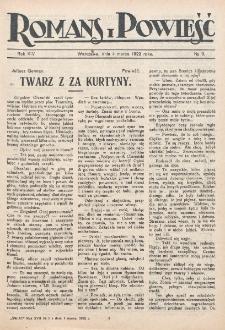 Romans i Powieść. R. 14, nr 9 (4 marca 1922)
