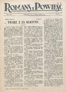 Romans i Powieść. R. 14, nr 10 (11 marca 1922)