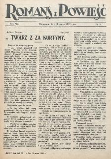 Romans i Powieść. R. 14, nr 11 (18 marca 1922)