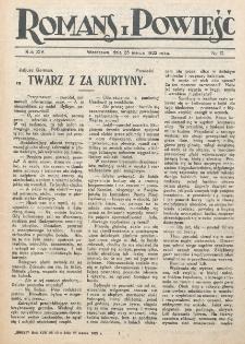 Romans i Powieść. R. 14, nr 12 (25 marca 1922)