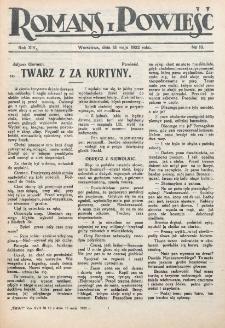 Romans i Powieść. R. 14, nr 19 (13 maja 1922)