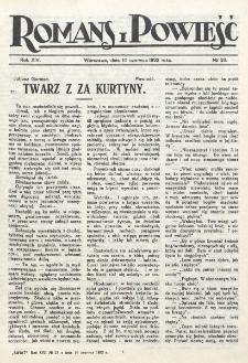 Romans i Powieść. R. 14, nr 23 (10 czerwca 1922)