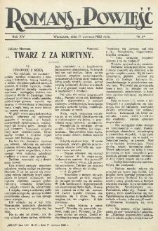 Romans i Powieść. R. 14, nr 24 (17 czerwca 1922)