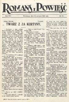 Romans i Powieść. R. 14, nr 25 (24 czerwca 1922)