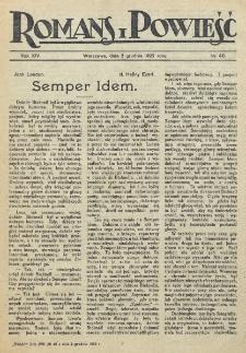 Romans i Powieść. R. 14, nr 48 (2 grudnia 1922)