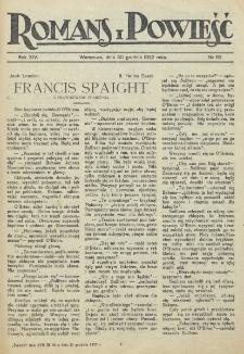 Romans i Powieść. R. 14, nr 52 (30 grudnia 1922)
