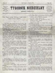 Tygodnik Niedzielny : pismo ludowe : wychodzi jako dodatek do Gazety Narodowej. R. 6 (1872), nr 50 (14 grudnia)