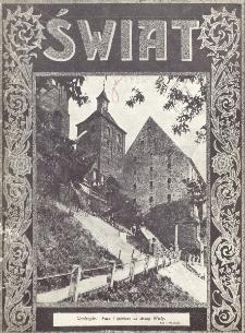 Świat : pismo tygodniowe ilustrowane poświęcone życiu społecznemu, literaturze i sztuce. R. 20 (1925), nr 31 (1 sierpnia)