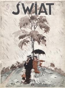 Świat : pismo tygodniowe ilustrowane poświęcone życiu społecznemu, literaturze i sztuce. R. 20 (1925), nr 34 (22 sierpnia)