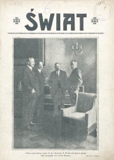 Świat : pismo tygodniowe ilustrowane poświęcone życiu społecznemu, literaturze i sztuce. R. 20 (1925), nr 38 (19 września)