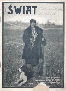 Świat : pismo tygodniowe ilustrowane poświęcone życiu społecznemu, literaturze i sztuce. R. 20 (1925), nr 41 (10 października)