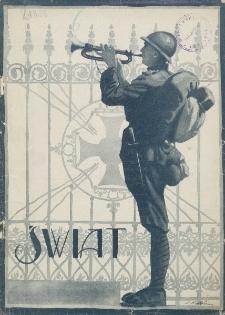 Świat : pismo tygodniowe ilustrowane poświęcone życiu społecznemu, literaturze i sztuce. R. 20 (1925), nr 45 (7 listopada)