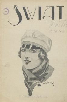 Świat : pismo tygodniowe ilustrowane poświęcone życiu społecznemu, literaturze i sztuce. R. 20 (1925), nr 47 (21 listopada)
