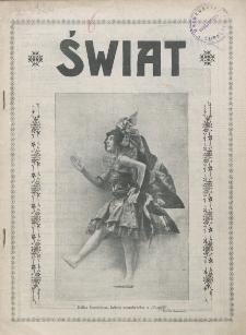 Świat : pismo tygodniowe ilustrowane poświęcone życiu społecznemu, literaturze i sztuce. R. 20 (1925), nr 49 (5 grudnia)