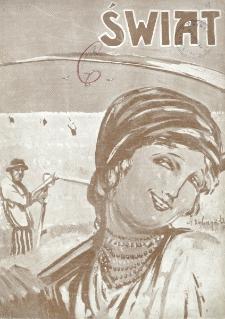 Świat : pismo tygodniowe ilustrowane poświęcone życiu społecznemu, literaturze i sztuce. R. 20 (1925), nr 25 (20 czerwca)