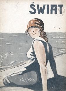 Świat : pismo tygodniowe ilustrowane poświęcone życiu społecznemu, literaturze i sztuce. R. 20 (1925), nr 29 (18 lipca)