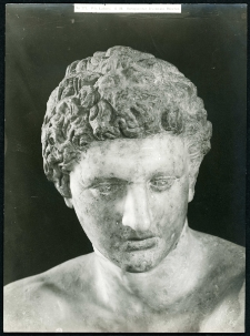 [Kopf, der Statue des ruhenden Kriegers aufgesetzt. 1]