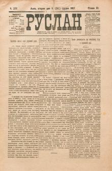 Ruslan. R. 11, č. 277 (1907)