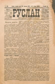 Ruslan. R. 11, č. 290 (1907/1908)