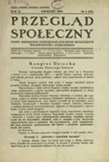 Przegląd Społeczny : pismo miesięczne poświęcone sprawom społecznym województwa lubelskiego