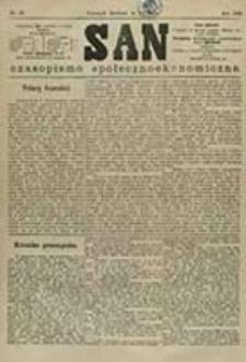 San : czasopismo społeczno-ekonomiczne / [wyd. i odpowiedzialny red. Adam Idzikowski]