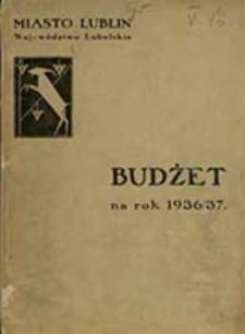 Budżet na Rok ... : miasto Lublin, Województwo Lubelskie / [Zarząd Miejski w Lublinie]