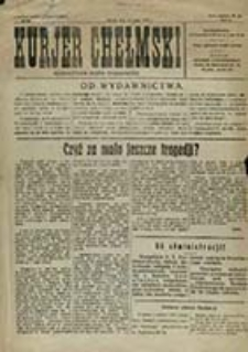 Kurjer Chełmski : bezpartyjne pismo tygodniowe / red. odp. Karol Wolf